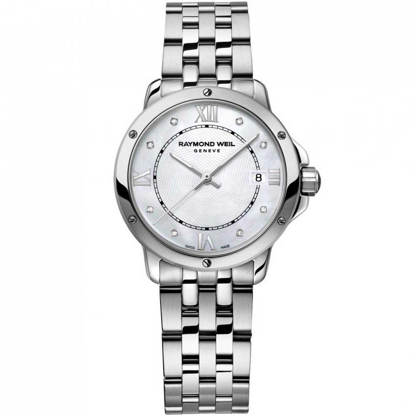 Raymond Weil Ladies Luxury Diamond Set All Steel Tango Watch 5391-ST-00995
