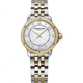 Ladies Tango MOP Dial Bracelet Watch with Diamond Set Bezel 5391-SPS-00995