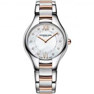 Ladies Noemia Diamond Set Two Tone Watch