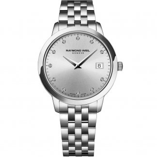 Ladies Steel 34mm Diamond Set Toccata Watch