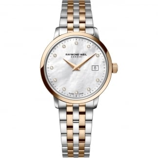 Ladies Toccata 29mm Diamond Set Two Tone Watch