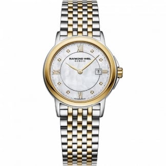 Ladies Two Tone Diamond Set Tradition Watch