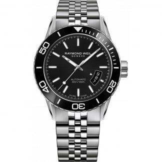 Men's Freelancer Automatic Steel Diver's Watch