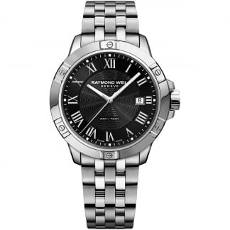 Men's 41mm Black Dial Tango Watch
