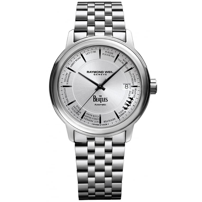 Pre order raymond weil beatles limited edition watch francis gaye jewellers for Raymond weil watch
