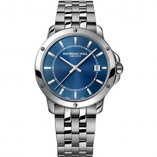 Men's Blue Dial Swiss Quartz Tango Watch