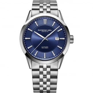 Men's Freelancer Automatic Blue Dial Bracelet Watch