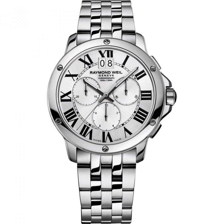 Raymond Weil Men's Swiss Made Tango Chronograph Watch 4891-ST-00650