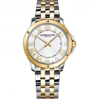 Men's Tango Two Tone Date Watch 5591-STP-00308