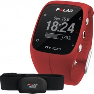 Red M400 GPS Running Watch