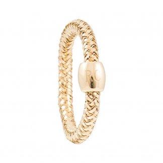 Primavera Yellow Gold Mini Stretch Ring AR555RI2116Y