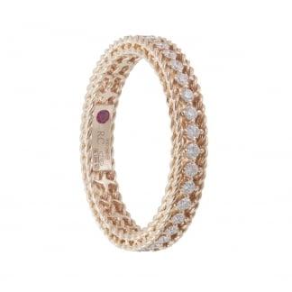 Symphony Diamond Set Rose Gold Eternity Ring ADR777RI0751_14R