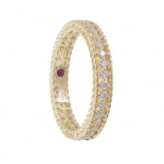 Symphony Diamond Set Yellow Gold Eternity Ring ADR777RI0751_14Y