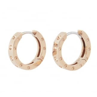 Symphony Rose Gold Hoop Earrings AR777EA0816R
