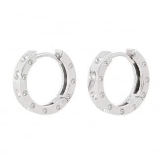 Symphony White Gold Hoop Earrings AR777EA0816W