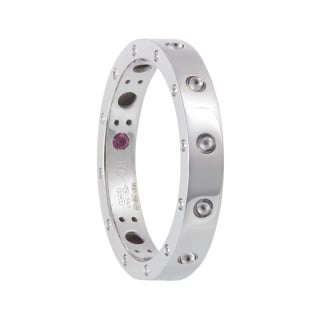 Symphony White Gold Ring