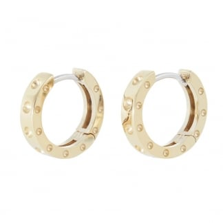 Symphony Yellow Gold Hoop Earrings AR777EA0816Y
