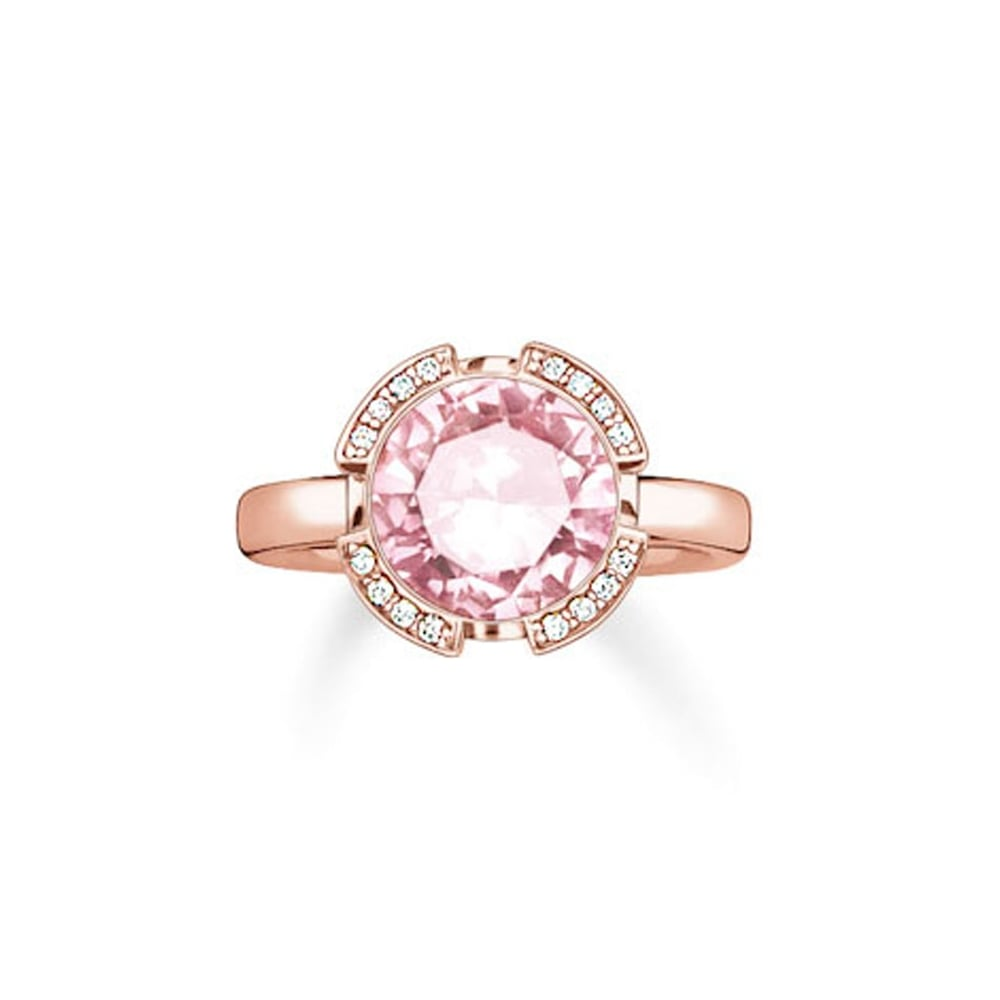 topaz plaza stone pink jewellery and diamond ring topaxz product rings