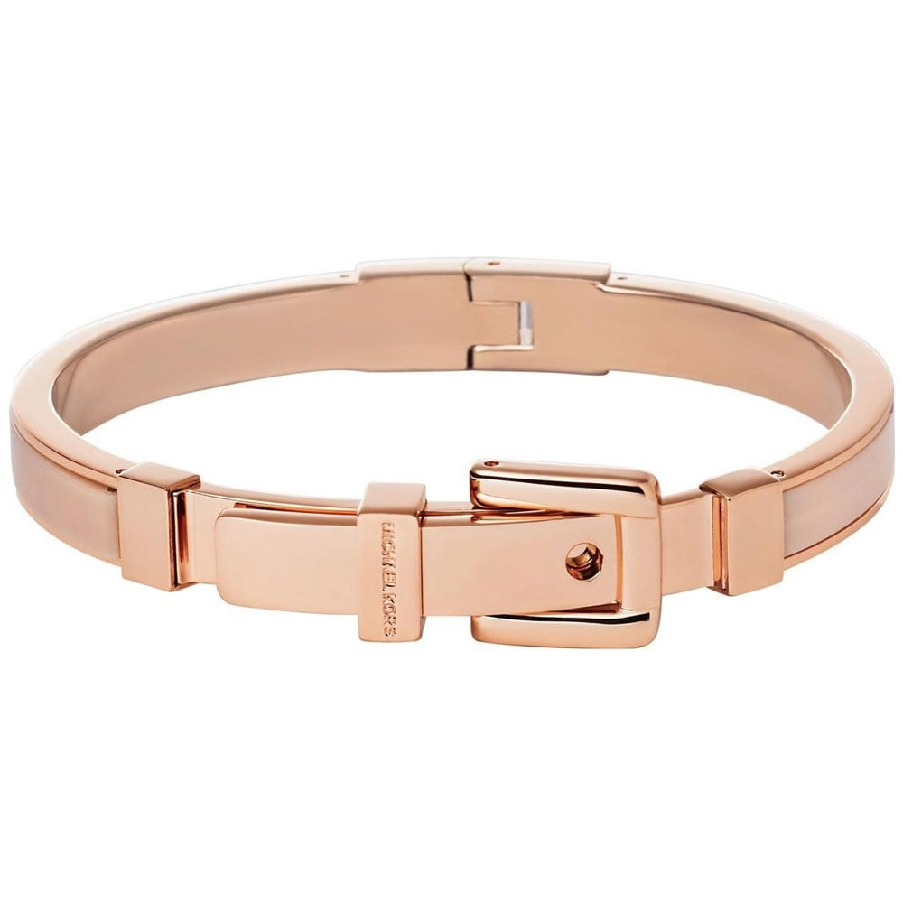 db5eeadf3b49 Michael Kors Rose Gold Astor Buckle Bangle Product Code  MKJ4325791
