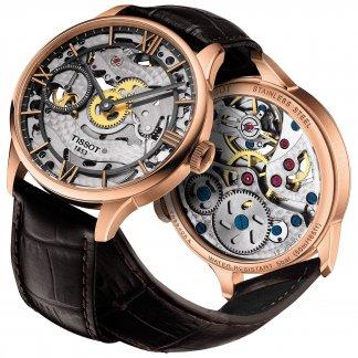 Rose Gold Chemin Des Tourelles Squelette Watch T099.405.36.418.00