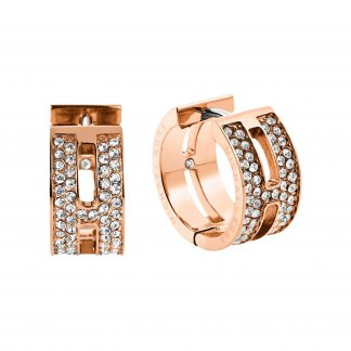 Rose Gold Maritime Stud Earrings MKJ4448791