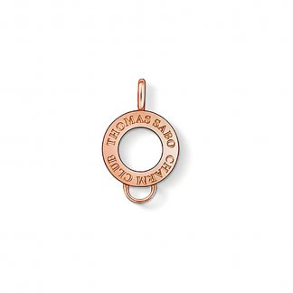 Rose Gold Plated Charm Carrier X0182-415-12
