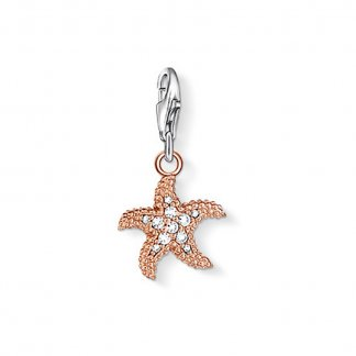 Rose Gold Plated Starfish Charm 0921-416-14