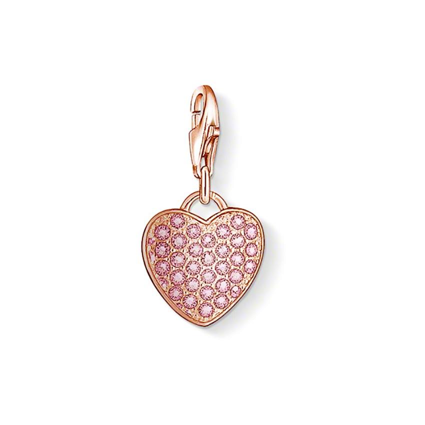 thomas sabo heart charm 1066 416 9 francis gaye jewellers. Black Bedroom Furniture Sets. Home Design Ideas