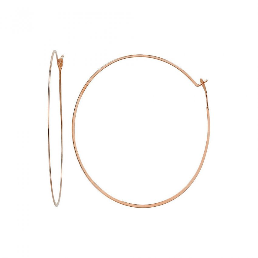 michael kors gold hoop earrings mkj1168791 michael kors hoop earrings francis gaye 7916