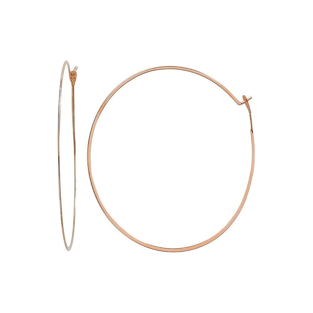 d876a6113ffde Michael Kors Rose Gold Tone Whisper Hoop Earrings Product Code  MKJ1168791