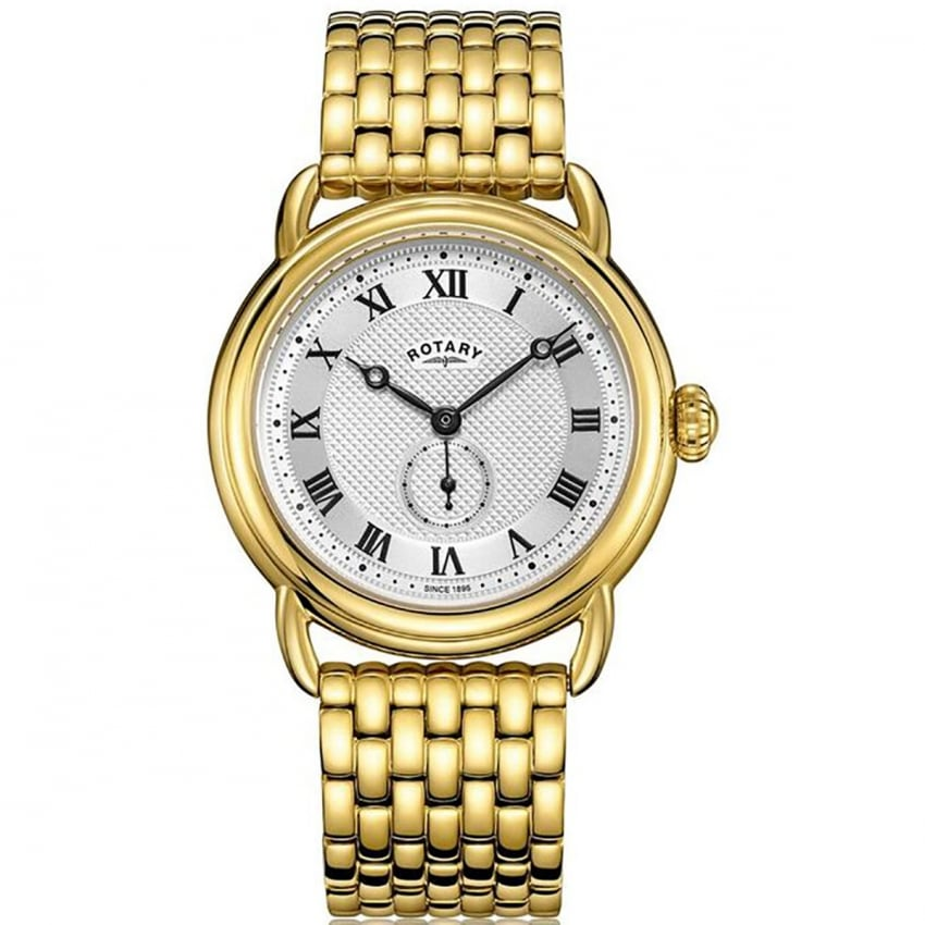 Gents Canterbury Gold Sub Dial Bracelet Watch GB05338/21