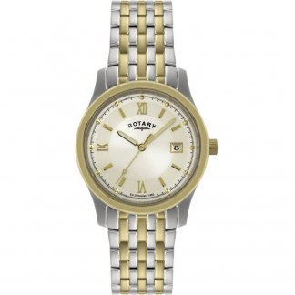 Gent's Classic Two Tone Steel Bracelet Watch
