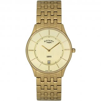 Gent's Gold Plated Ultra Slim Watch GB08203/03