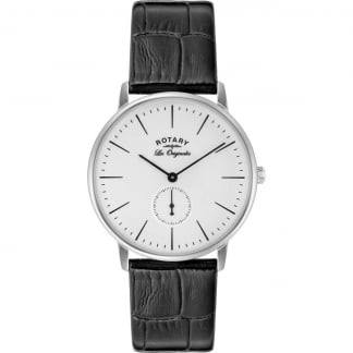 Gent's Les Originales Black Strap Kensington Watch GS90050/02