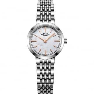Ladies Canterbury Silver Steel Bracelet Watch LB05060/07