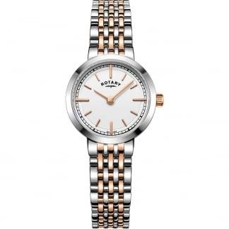 Ladies Canterbury Steel & Rose Bracelet Watch LB05061/02