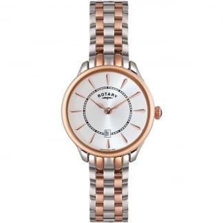 Ladies Elise Two Tone Bracelet Watch LB02917/02
