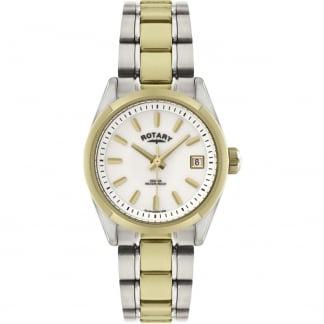 Ladies Havana Two Tone Bracelet Watch LB02661/11