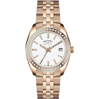 Ladies Les Originales 28mm Rose Gold Lucerne Watch LB90085/02