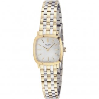 Ladies Mother of Pearl Two Tone Bracelet Watch LB02401/41