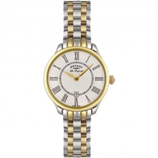 Ladies Quartz Two Tone Elise Watch LB02916/06