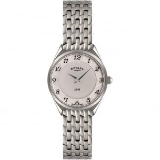 Ladies Steel Ultra Slim Quartz Watch LB08000/18