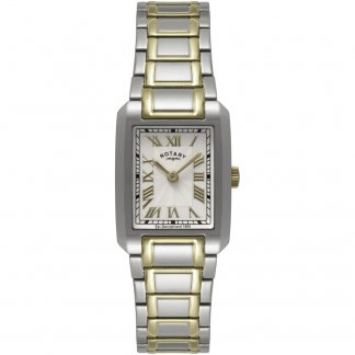 Ladies Two Tone Bracelet Quartz Watch LB02606/40