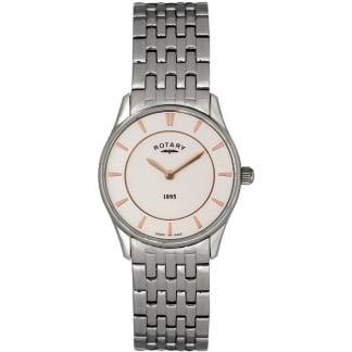 Ladies Ultra Slim Steel Bracelet Watch LB08200/02