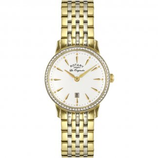 Les Originales Ladies Two Tone Kensington Watch LB90056/01
