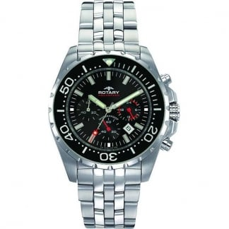 Men's Aquaspeed Chronograph Steel Bracelet Watch AGB00013/C/04