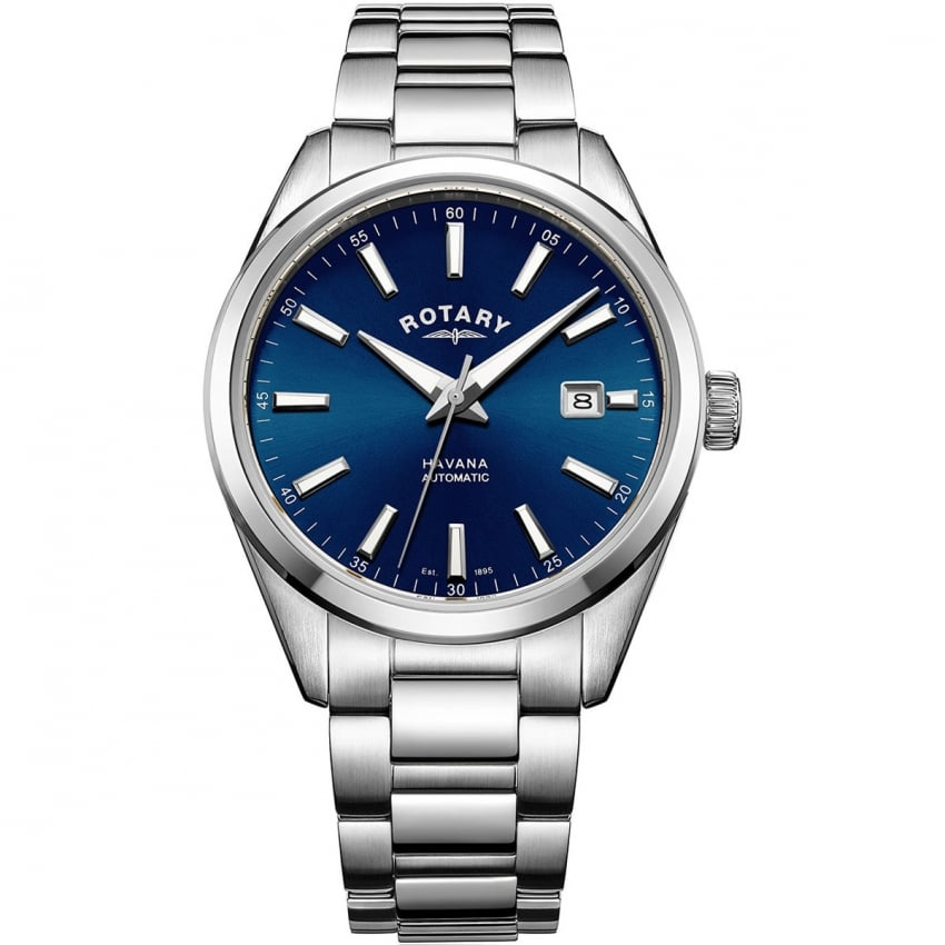 Rotary Men's Automatic Blue Dial Havava Watch GB05077/05