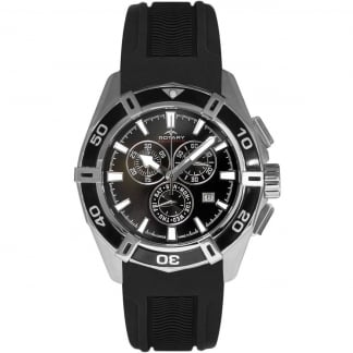 Men's Black Rubber Aquaspeed Chronograph Watch AGS90089/C/04