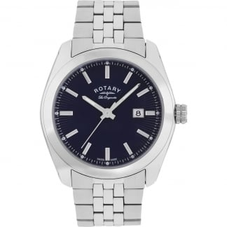 Men's Lausanne Blue Dial Les Originales Watch GB90110/05