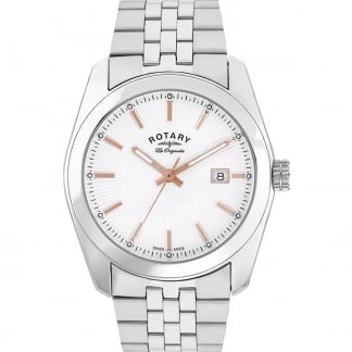 Men's Lausanne White Dial Les Originales Watch GB90110/06
